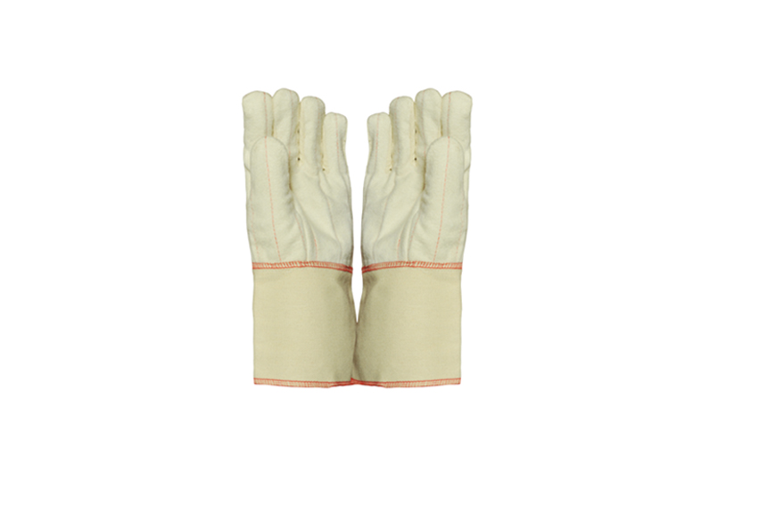 Cotton Drill Double Palm & Hotmill Gloves
